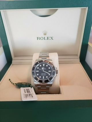 Rolex Submariner No Date Stainless Steel 114060  Bnib