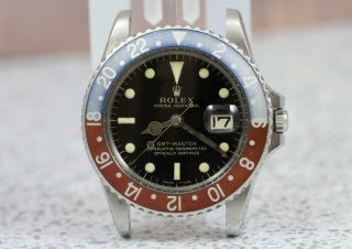 Rolex Automatic Chronometer Gmt Master 1675 Gilt