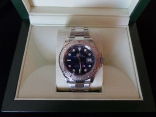 Rolex Yacht - Master Platinum Blue Dial 40mm Automatic 126622 Cond