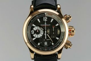 Jaeger Lecoultre Master Compressor Chronograph 18k Rose Gold Watch Q1752440