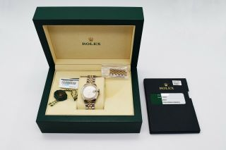 Rolex Datejust 178273 Steel & 18k Yellow Gold Ladies
