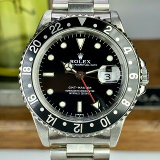 1997 Rolex Gmt - Master 16700 U Serial Watch Only