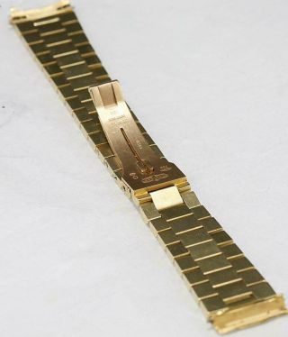 CUSTOM MADE After Market 18K Solid Gold Men ' s 31mm Datejust Quick Set Auto Watch 7