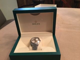 Rolex Datejust Stainless - Steel And White Gold White Dial Jubilee 41mm Watch