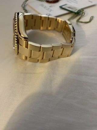 Rolex Yacht - Master 18k Yellow Gold 16628 Papers and Tags Full Bracelet 2