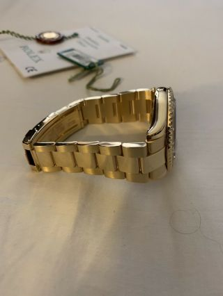 Rolex Yacht - Master 18k Yellow Gold 16628 Papers and Tags Full Bracelet 3