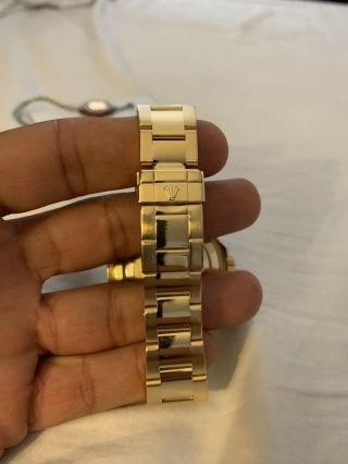 Rolex Yacht - Master 18k Yellow Gold 16628 Papers and Tags Full Bracelet 4