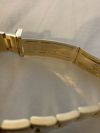 Rolex Yacht - Master 18k Yellow Gold 16628 Papers and Tags Full Bracelet 6
