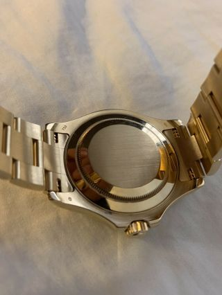 Rolex Yacht - Master 18k Yellow Gold 16628 Papers and Tags Full Bracelet 7