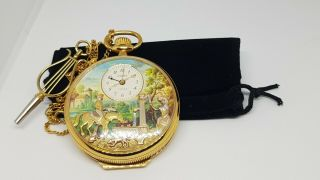 Musical Avtomaton Pocket Watch (video)