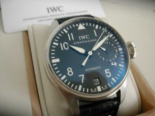 Iwc Big Pilot 5004 7 Days Power Reserve