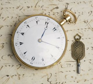 MUSICAL REPEATER SELF STARTING Solid GOLD Antique Repeating Pocket Watch NO RESE 3