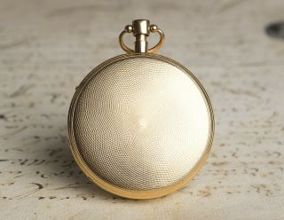 MUSICAL REPEATER SELF STARTING Solid GOLD Antique Repeating Pocket Watch NO RESE 7