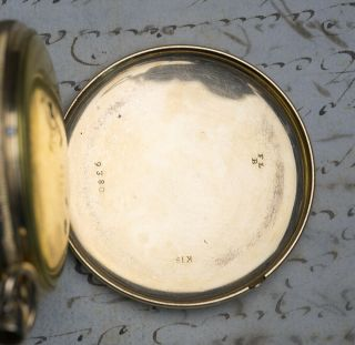 MUSICAL REPEATER SELF STARTING Solid GOLD Antique Repeating Pocket Watch NO RESE 8