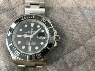 Rolex Sea - Dweller 126600 50th Anniversary Black Steel 43mm Pre - owned 10