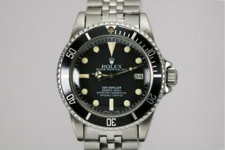 Rolex Sea - Dweller 1665 Vintage Automatic Dive Watch Circa 1980s