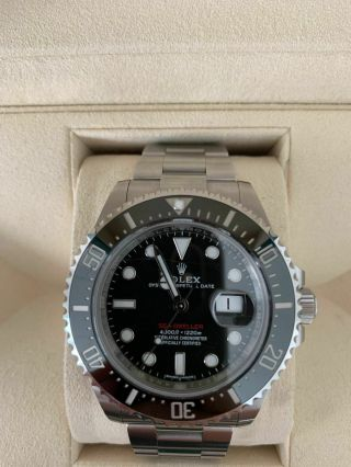 Rolex Sea - Dweller 126600 Sd43 Red 50th Anniversary 43mm - 2017 Box & Papers