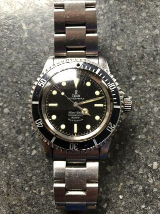 Tudor Circa 1960s Submariner Watch