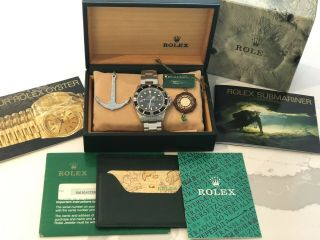 1990 Rolex Submariner 16610 Cal 3135,  Tags And Papers
