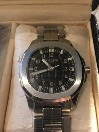 Patek Philippe Aquanaut Wrist Watch For Men