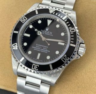 Rolex Submariner Mens Watch Reference 14060m 2000 - 2010