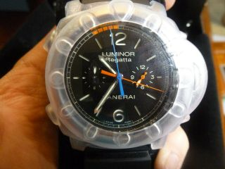 Panerai Pam 526 Luminor 1950 Regatta 3 Days Chrono Flyback Box & Papers