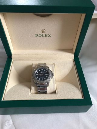 2018 Rolex Yachtmaster 116622 40mm Men's Watch In Rolessium And Stainless Steel