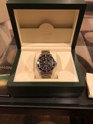 Rolex Submariner 16610 Black Dial Stainless Steel Oyster Bracelet
