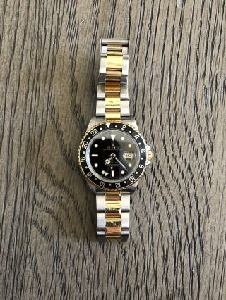 Rolex Gmt - Master 116713ln Wrist Watch For Men