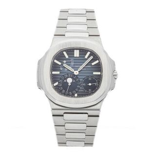 Patek Philippe Nautilus Moon Phase Steel Auto 40mm Bracelet Mens 5712/1a - 001