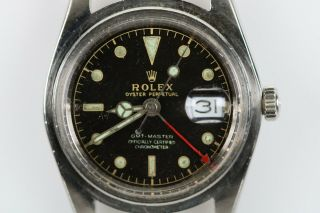 Rolex Gmt Master 6542 Project Watch Automatic Cal 1030,  Circa 1950s
