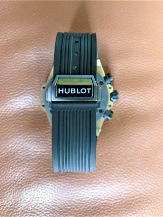 Hublot Big Bang Unico Full Magic 18k Gold Skeleton 411.  MX.  1138.  RX - 8