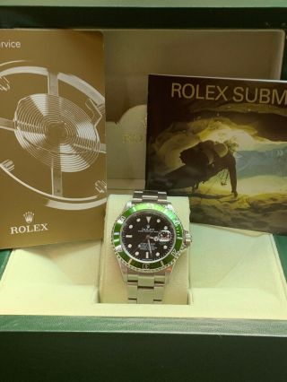 "Rolex Submariner 16610t ""z"" Serial Box And Booklet"
