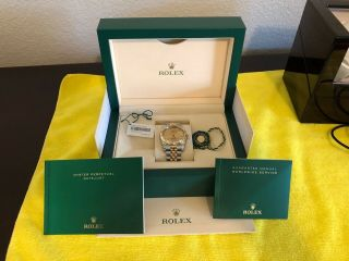 Mens Rolex Perpetual Datejust Oyster Watch