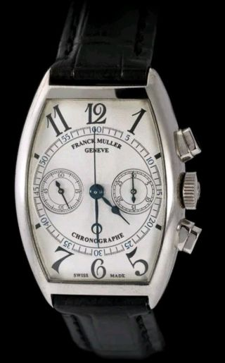 Extreamly Rare Franck Muller Master Complications 18k Solid White Gold $55,  000