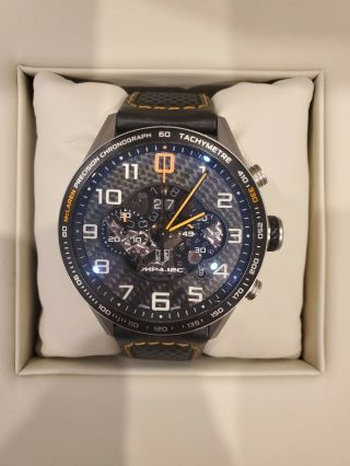 Tag Heuer Mclaren Mp4 - 12c Watch Rrp $10k,