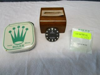 Nos Rolex Gmt - Master Matte Finish Dial For Ref.  1675 1980s