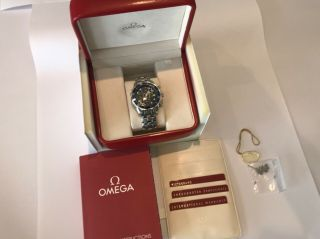 Omega Seamaster 300 Professional Chronograph Watch,  Boxed,  Book,  Cards,  2225.  80.