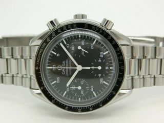 Omega Speedmaster Automatic Ref: 3510.  50 Box,  Tag,  Book & Papers Very Good