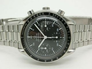Omega Speedmaster Automatic Ref: 3510.  50 Box,  Tag,  Book & Papers Good