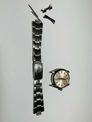 Estate Purchased Vintage Men's 6564 Rolex Oyster Stainless Watch