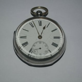 Antique Silver Fusee But Needs Aattention 1875
