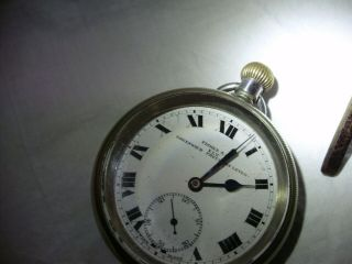 Fisher And Co.  Pocket Watch