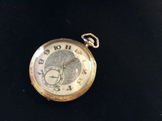 Vintage Longines Gold Filled Pocket Watch For Repair.