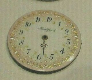 Rockford Pocketwatch 0 Size Partial Movements And A Multi Color Dial