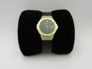 Hublot Mdm 2 Tone Stainless Steal And 18k Gold And Books