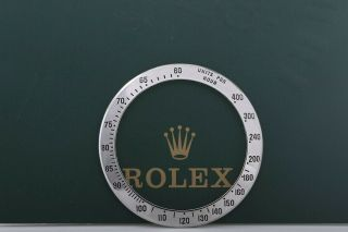 Rolex Daytona Stainless Steel Bezel For Model 116520 Fcd9258