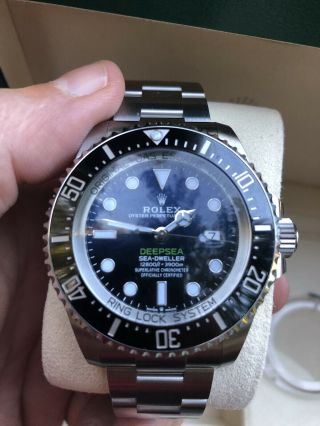2019 Rolex Sea - Dweller Deepsea 126660 James Cameron Stainless - Unworn