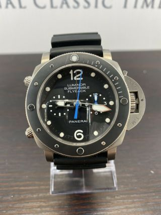 Panerai Pam 615 Luminor Submersible 1950 3 Day Chrono Flyback