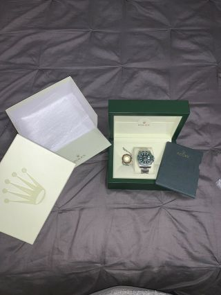 Rolex Submariner Hulk 116610lv Ceramic Green Dial